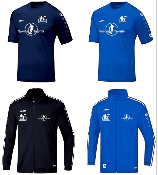 Nieuwe kleding voor onze spelers en trainers